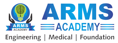 ARMS Academy | JEE Mains & Advance | NEET Classes in Pune Logo